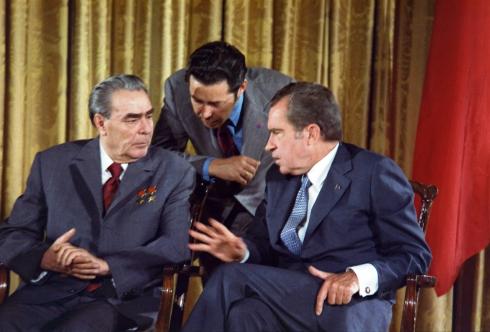 Леонид Брежњев и Ричард Никсон 1973.