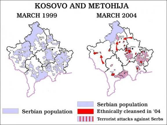 Kosovo i Metohija maps