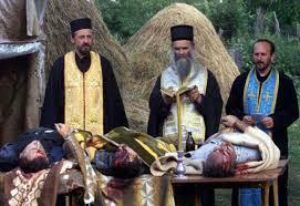 Последња хришћанска служба жртвама шиптарске тортуре.