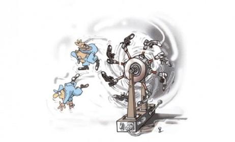 Карикатура: Горан Дивац