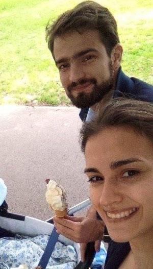 Филип са супругом Катарином и сином Михаилом