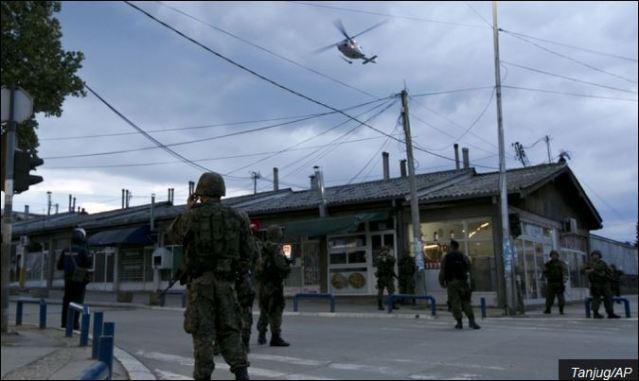 Мутна позадина: Полиција на улицама Куманова