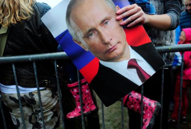 Детаљ са дочека руског председника у Београду