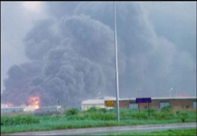 НАТО Бомбардовање 1999 - ПЕТРОХЕМИЈА