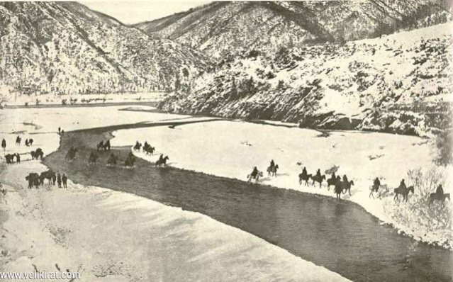 Serbian-Army-Crossing-river-Drim