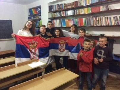 Српска деца из Албаније