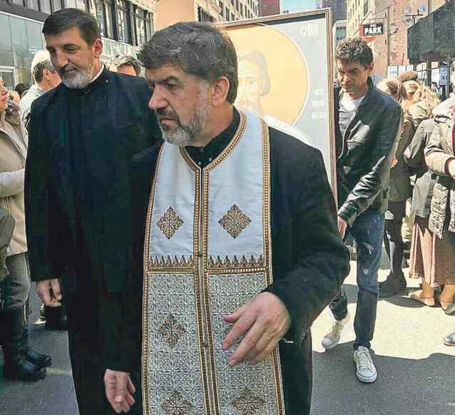 Чудотворну икону пронели улицама Њујорка, Фото: Ало!