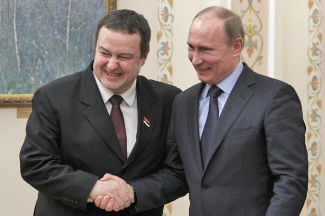 Dacic i Putin