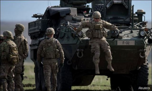 НАТО војници у Словачкој