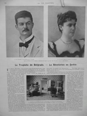 """Француска штампа је једина писала """"са разумевањем"""", односно са најмање осуда представљајући догађај као револуцију. У то време за француски Монд је писао Лаза Костић"""