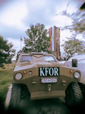 Оклопњаци КФОР-а дуго били око белега српске историје.