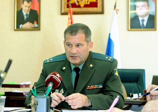 Званични представник Министарства одбране Русије, генерал-мајор Игор Конашенков