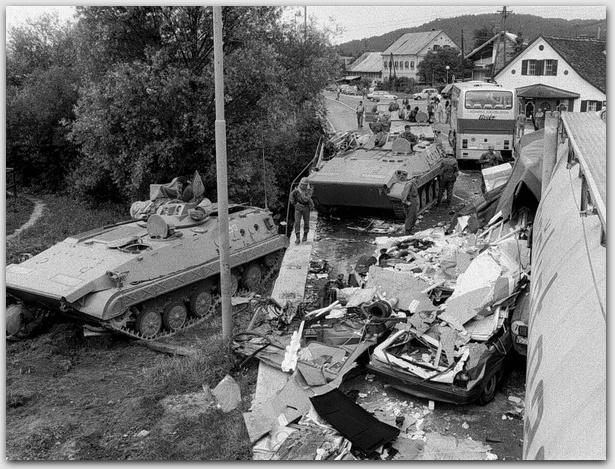 Slovenija 1991. ubili su vojnike JNA