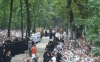 Верници, свштенство и монаси на прилазу Кијево-Печорској лаври