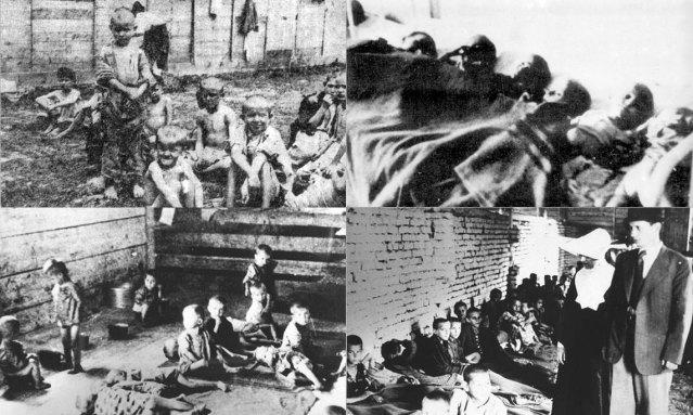 деца у логорима