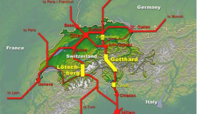 Gotthard tunel