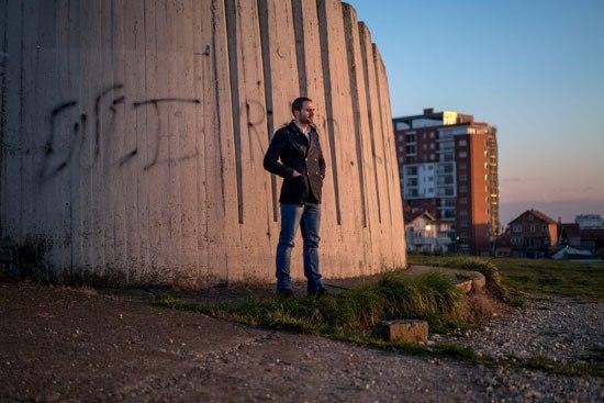 Алберт Бериша, осуђен на затвор због одласка на сиријски фронт, каже да се није прикључио Исламској држави (Фото: Andrew Testa for The New York Times)