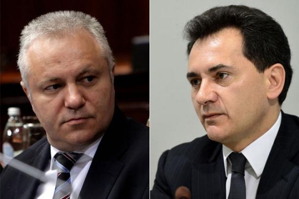 Млађан Динкић и Божидар Ђелић (Фото: Телеграф)