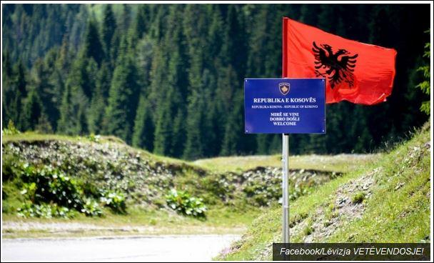 Шиптарски сајт је објавио фотографију о жељама сепаратиста за србском територијом Косово и Меохија