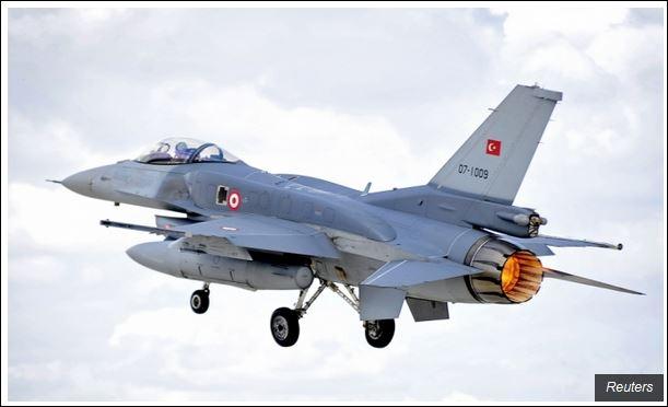 Турски борбени авиони патролирају својим небом
