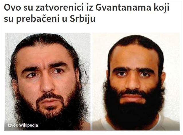 Пребачени у Србију: Држављанин Јемена је Мансур Ахмад Сад ел Дајфи, а Таџикистанац је Махамади Давлатов.