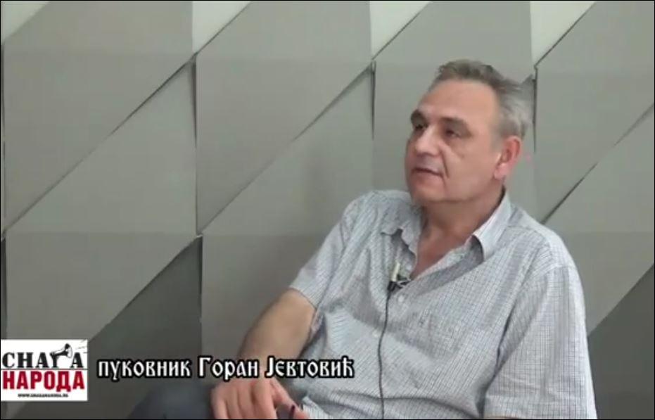 Инфоратници против Новог светског поретка: Аутор Биљана Ђоровић и пуковник Горан Јевтовић (видео)