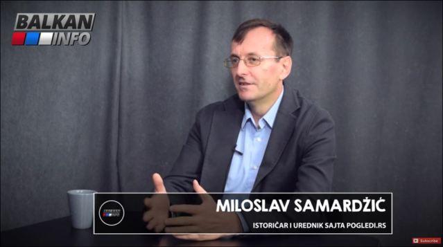 istoricar Miloslav Samardzic