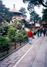 94 година, Пекинг, Забрањени град, ботаничка башта