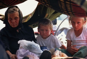 Serb Refugees in Bosnia