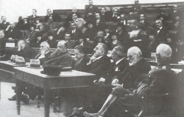 Суђење политичком и војном врху Грчке због катастрофалног пораза од Турске у Малој Азији 1922.