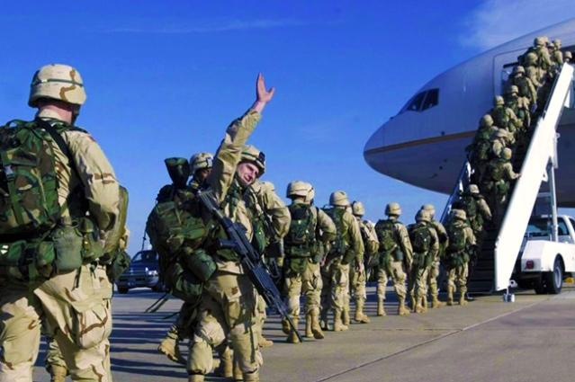 Укрцавање америчких војника упућених у Сирију