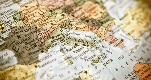 Карта Европе © Fotolia/ Twixx