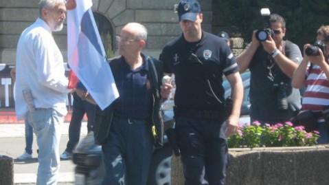 Са једног од протестак на којиамј е Никола учествовао