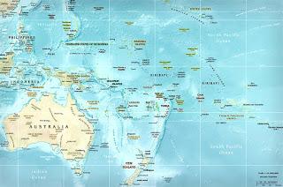 Већина земаља (острва) са списка