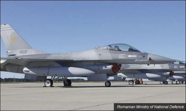 Авиони Ф-16 стигли су у Румунију