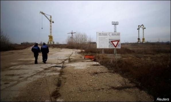 Место где је требало да буде нуклеарна електрана Белене