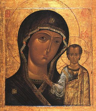Икона Божије Mајке Казанска
