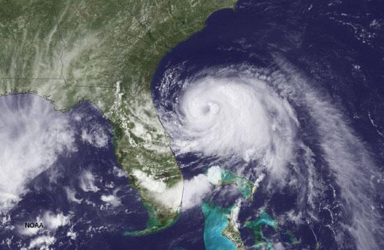 """Тропска олуја """"Артур"""" одлази од обале Флориде, 2. јул 2014. (Фото: Getty Images)"""