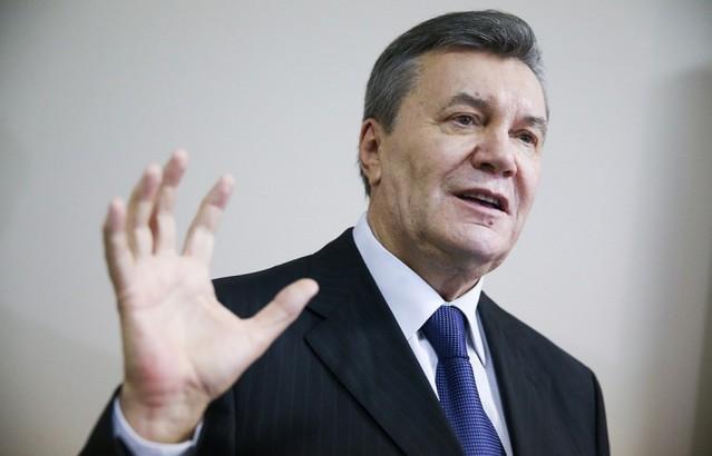 Свргнути украјински председник Виктор Јанукович