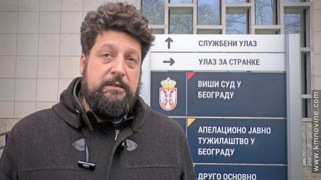 Никола Томашевић, адвокат одбране / Фото: КМ Новине