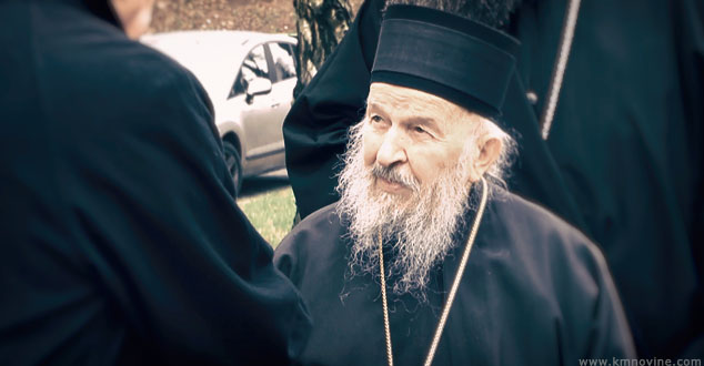 Епископ Артемије током консултација са својим адвокатом / Фото: КМ Новине
