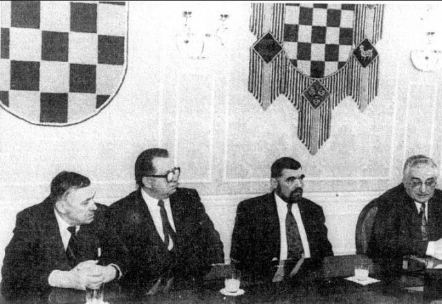 Бољковац, Шпегељ, Месић, Туђман
