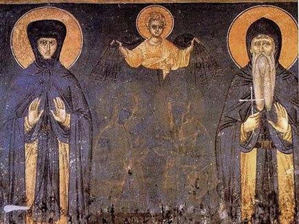 Свети Преподобни Симеон Мироточиви и Света Преподобна Анастасија Српска