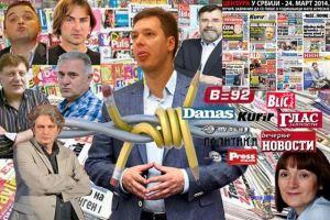 Власт и медији (Фото: Гето Србија)