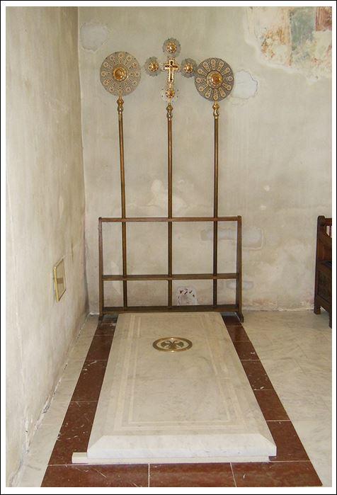Манастир МАНАСИЈА - земни остаци ктитора деспота Стефана Лазаревића