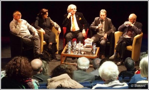 Воле Србију: Патрик Бесон (први слева) и Данијел Шифер (у средини)