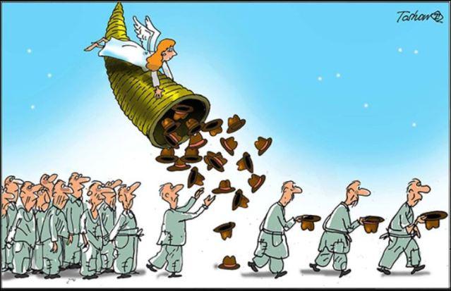 Карикатура: Тошо Борковић