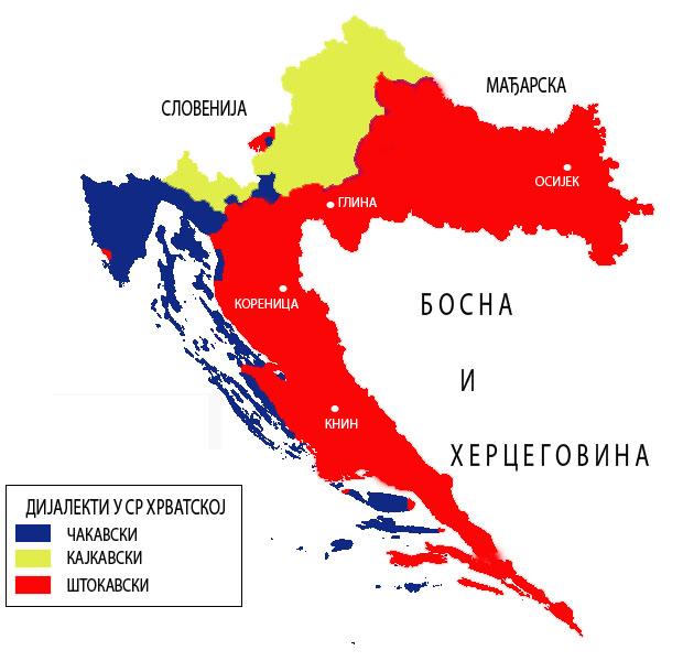 Hrvatska Dijalektihrvatske