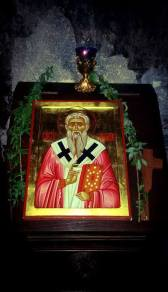 Икона Св. Ахилија у храму у Ариљу