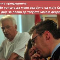 (Подсећање) Марко Јакшић: Господине Председниче, ко сте Ви уопште да мене одвојите од моје Србије? Ко Вам даје за право да тргујете мојом дедовином?